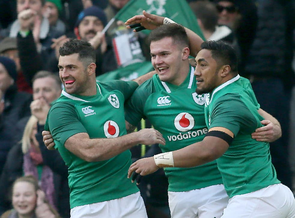 Jacob Stockdale's late try killed off Wales' hopes