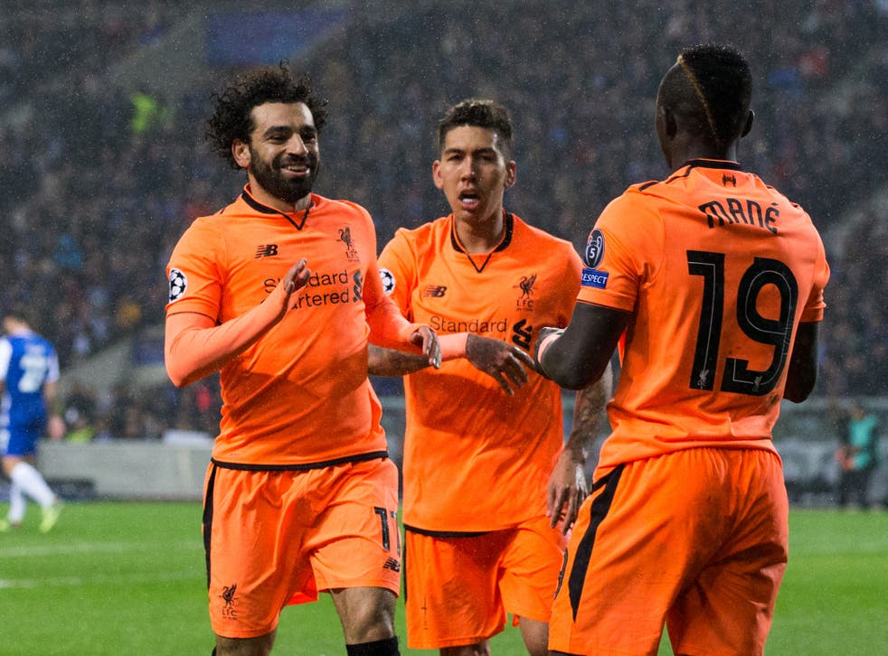 Liverpool's front three have been in superb form