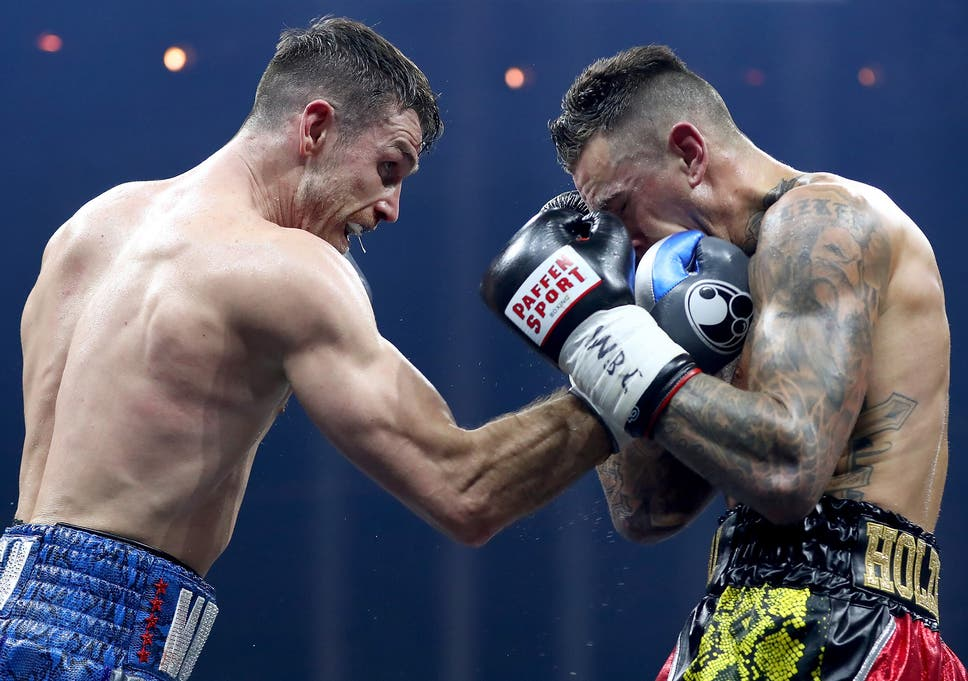 Callum Smith Outclassed Late Replacement Nieky Holzken