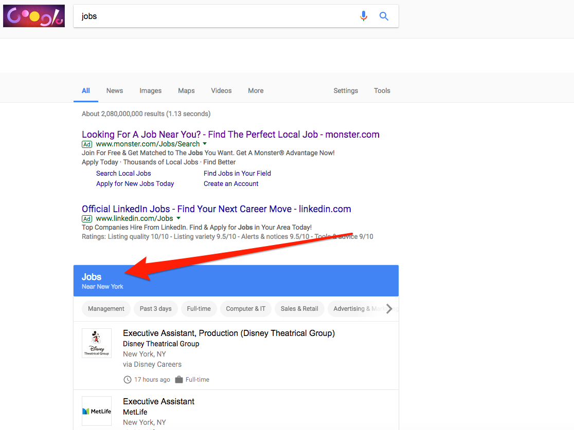 Google launched its own job search engine – here's how it