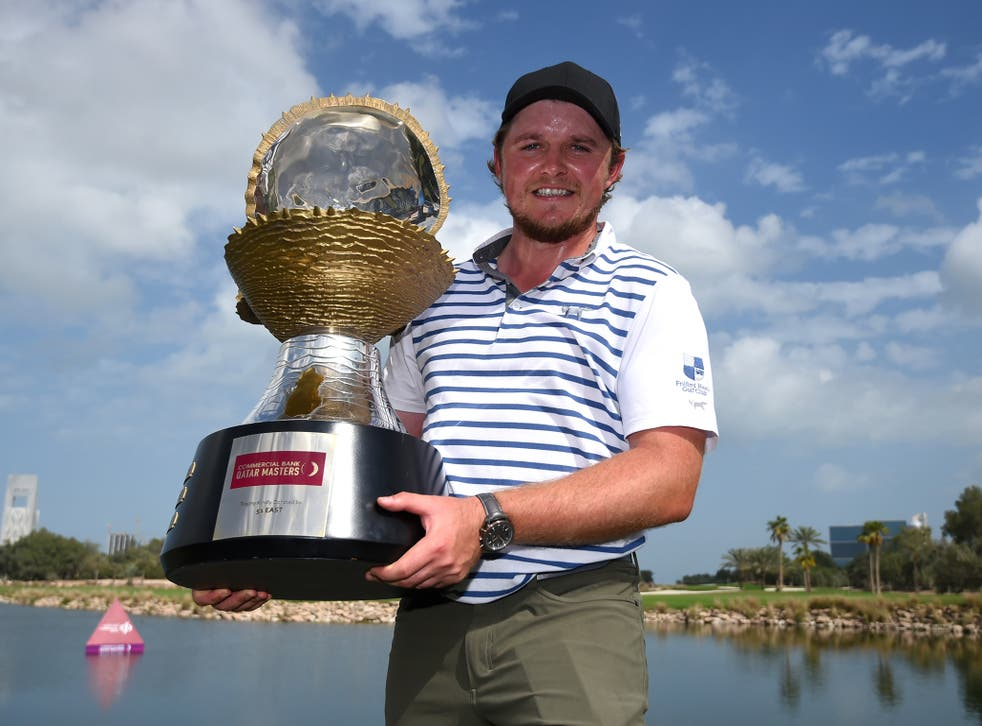 The Englishman had never before won a European Tour event
