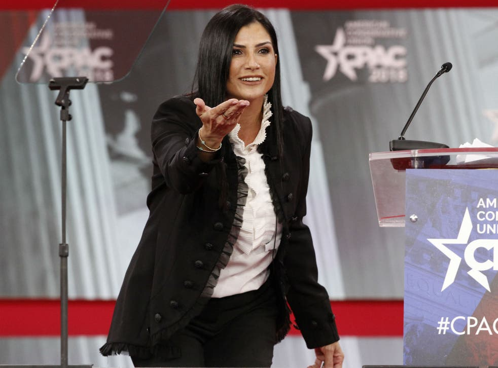Dana Loesch, spokesperson for the National Rifle Association, has tried to play down talks of a rift with President Donald Trump