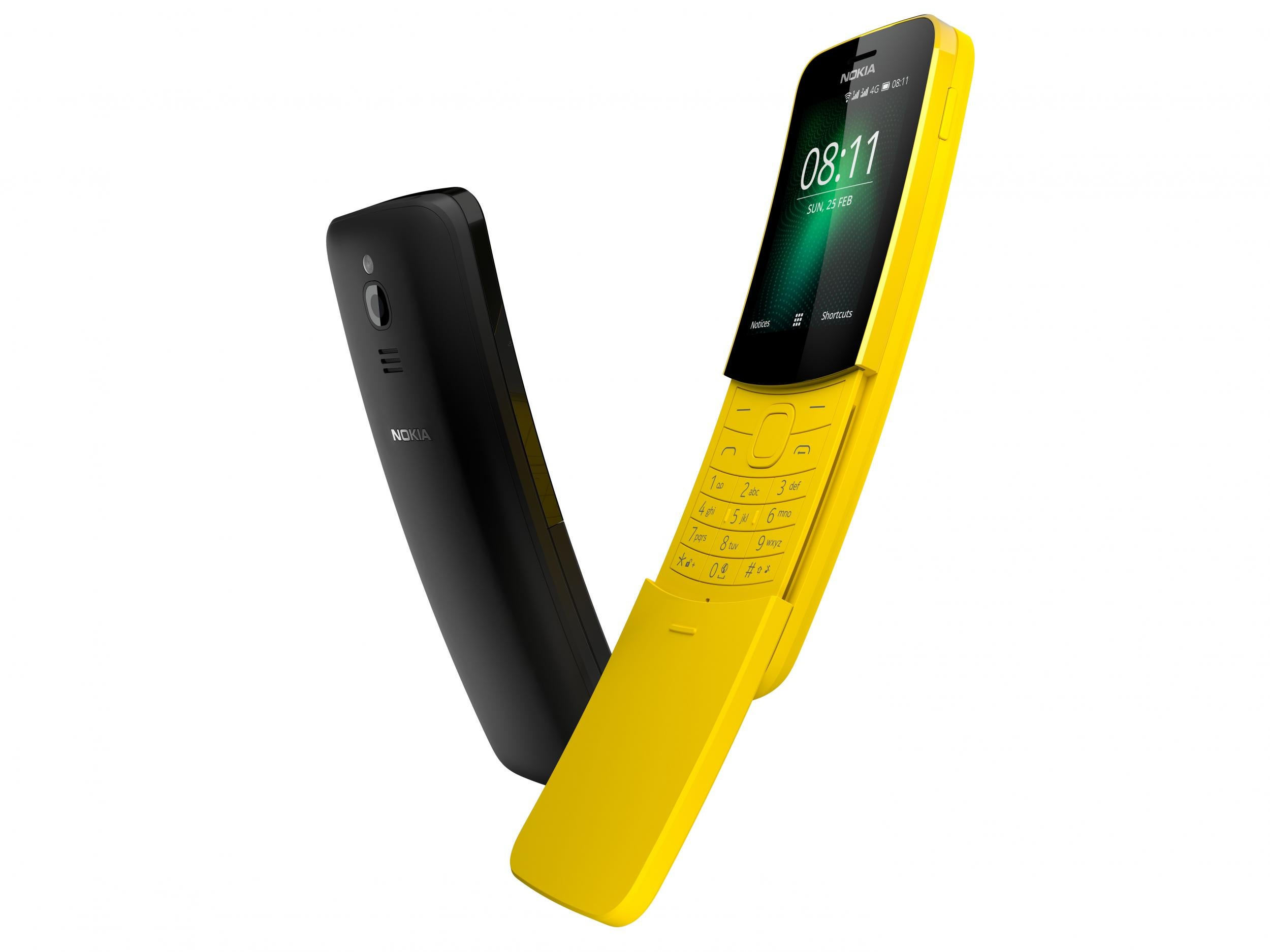 Mwc 2018 Nokia Reinvents Iconic 8110 Banana Phone As
