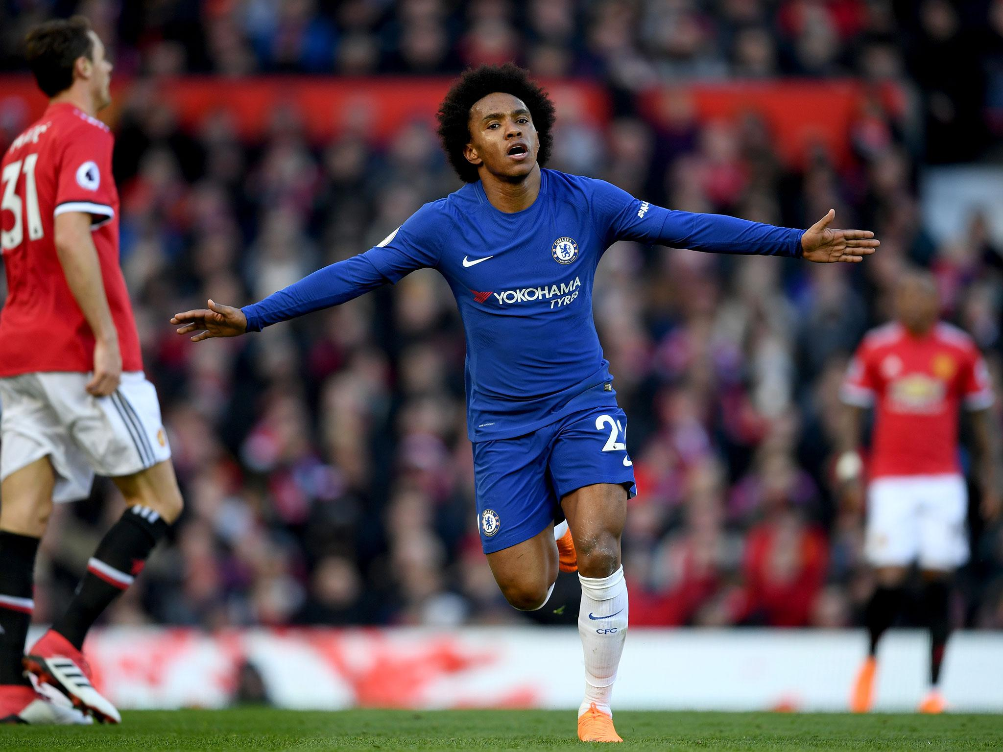 Manchester United Manager Jose Mourinho Praises Willian As