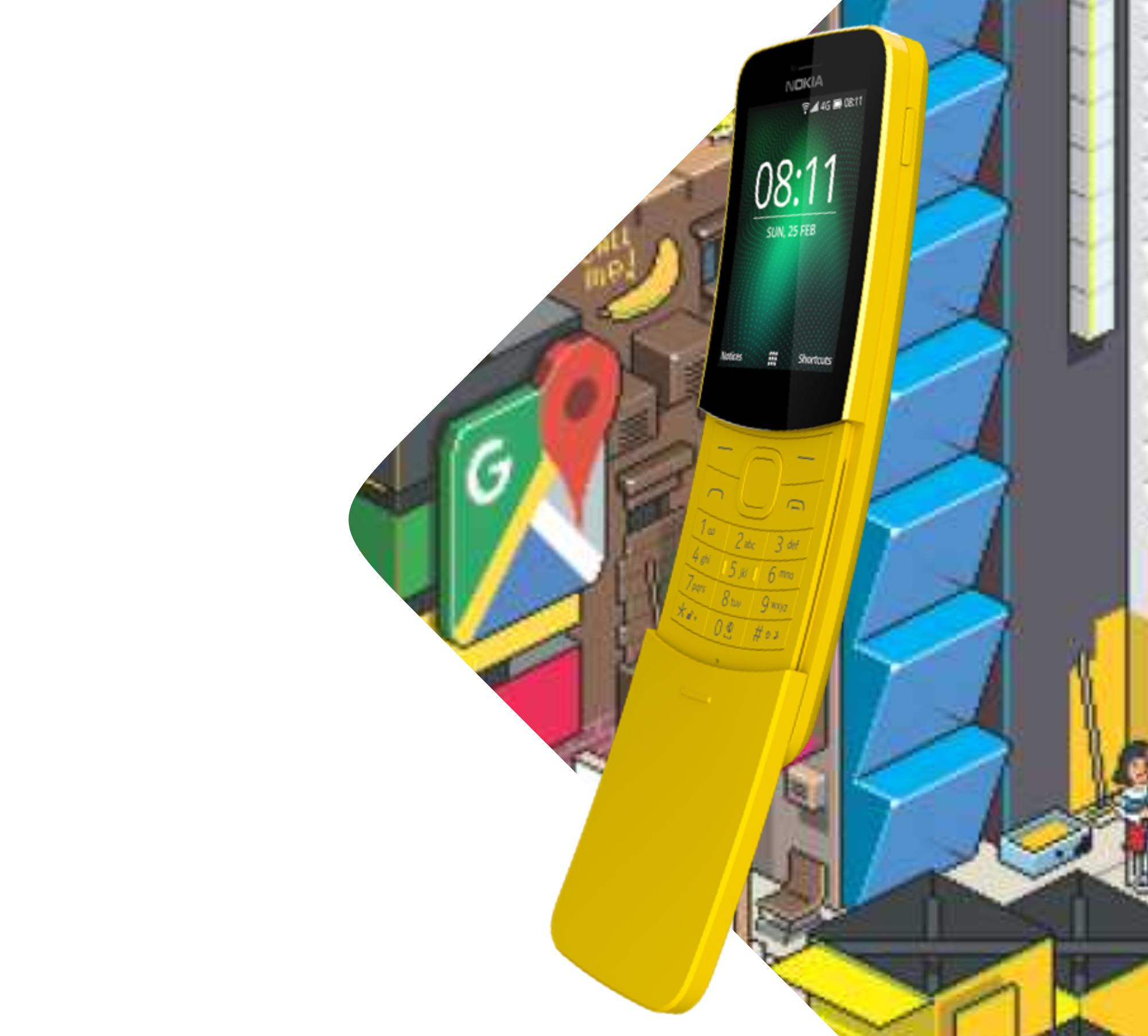 Nokia 8110: Iconic 'banana phone' that starred in The Matrix