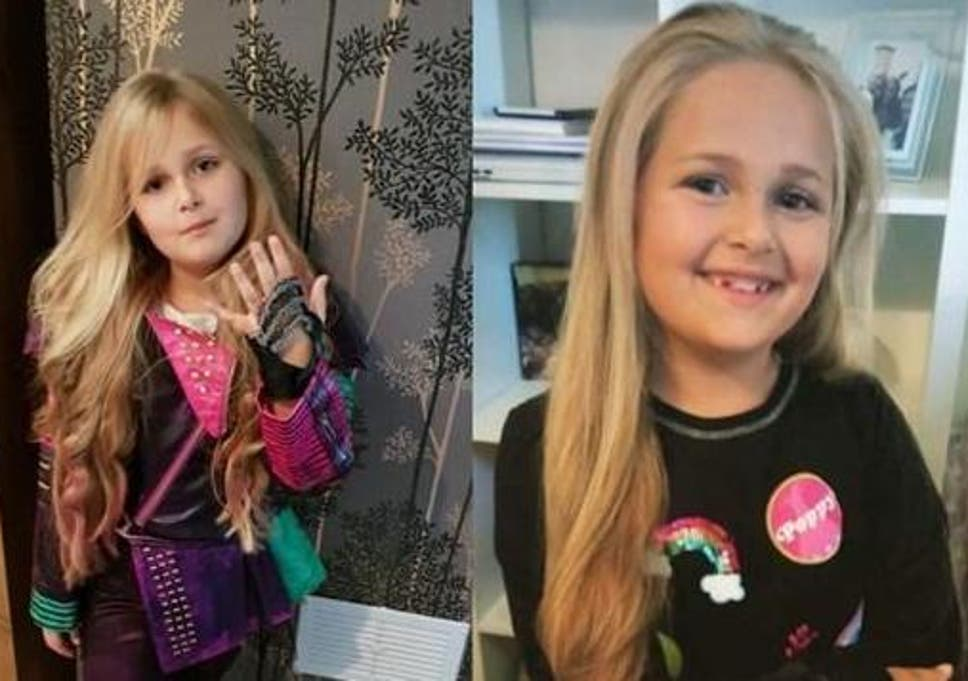 Eight-year-old girl cuts off princess hair to make wig for sick child c804e7e00e