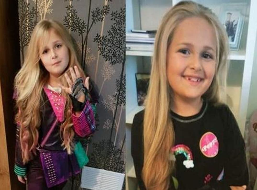 Ruby Cotter wants to make her hair into a wig for a sick child (JustGiving)
