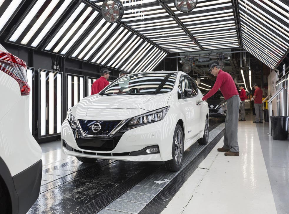 Production of the Nissan Leaf, the world's bestselling electric vehicle, is underway for European customers