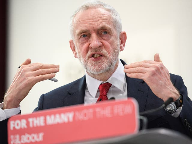 Labour leader Jeremy Corbyn makes a keynote speech as he sets out Labour's position on Brexit, at the National Transport Design Centre in Coventry. Jeremy Corbyn's Brexit speech confirmed that a Labour Government would negotiate full tariff-free access to EU markets for UK business.