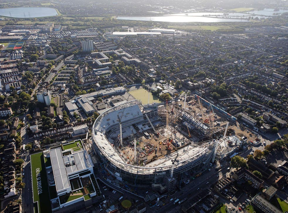 Tottenham's new stadium is set to be completed later this year