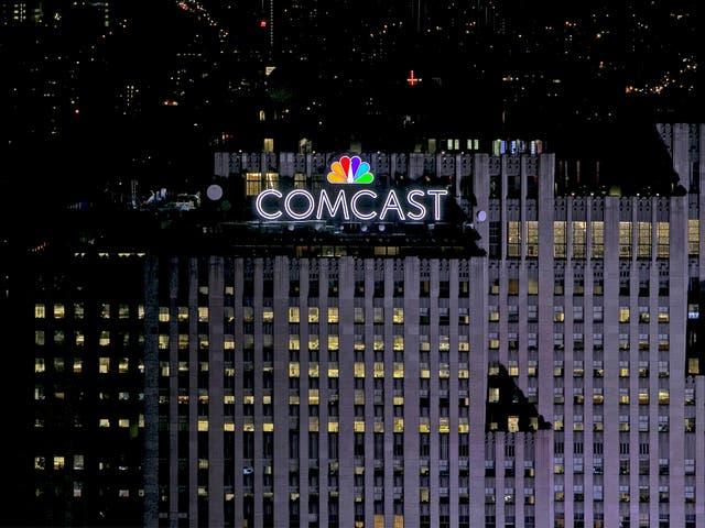 Eyeing Sky: Comcast has trumped the bid tabled by Rupert Murdoch's Fox