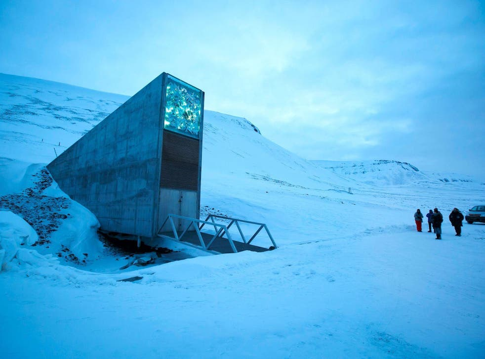 Seed banks such as this one in Svalbard have been established to protect the world's plant biodiversity, but scientists warn they may not be enough