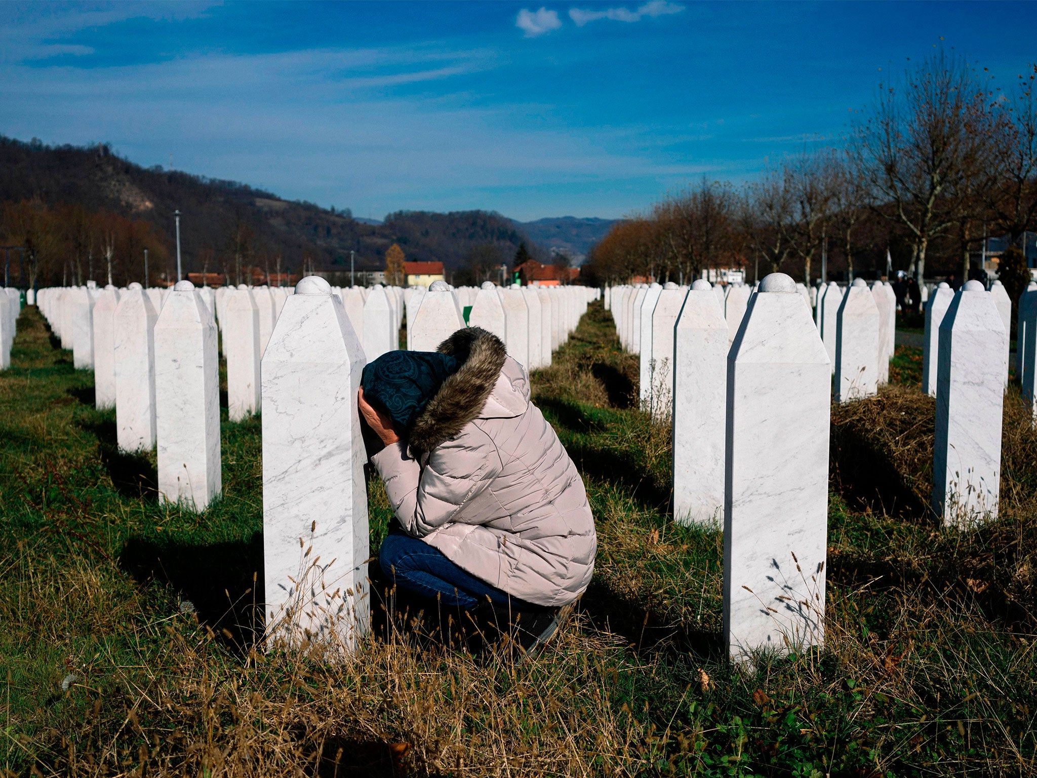 Srebrenica genocide survivor warns 'forces of division' in Europe raise chance of more bloodshed