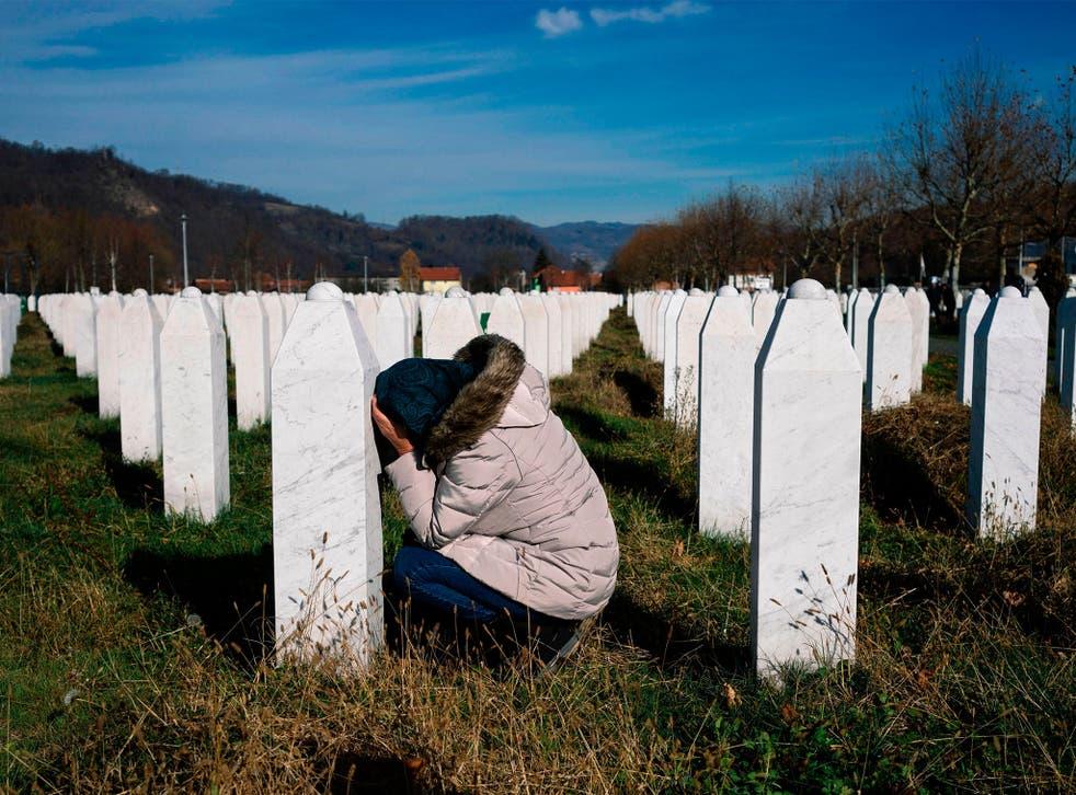 More than 8,000 Muslim Bosniaks were murdered during the Srebrenica massacre