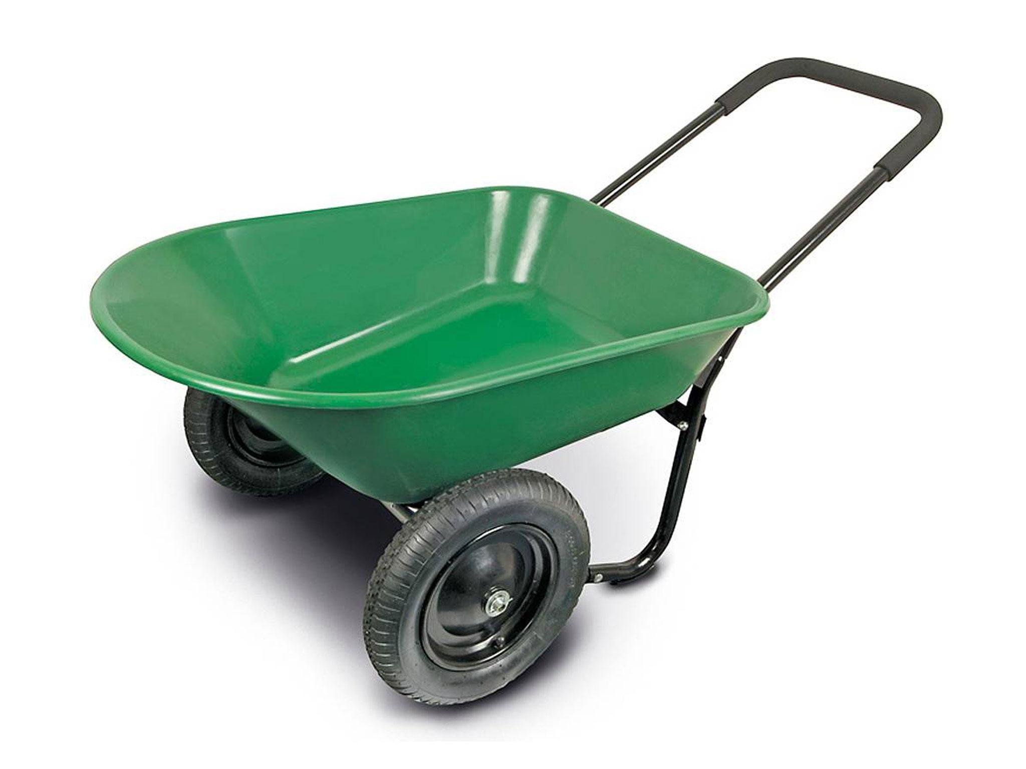 10 best wheelbarrows   The Independent Xs Wheel Golf Push Cart Html on