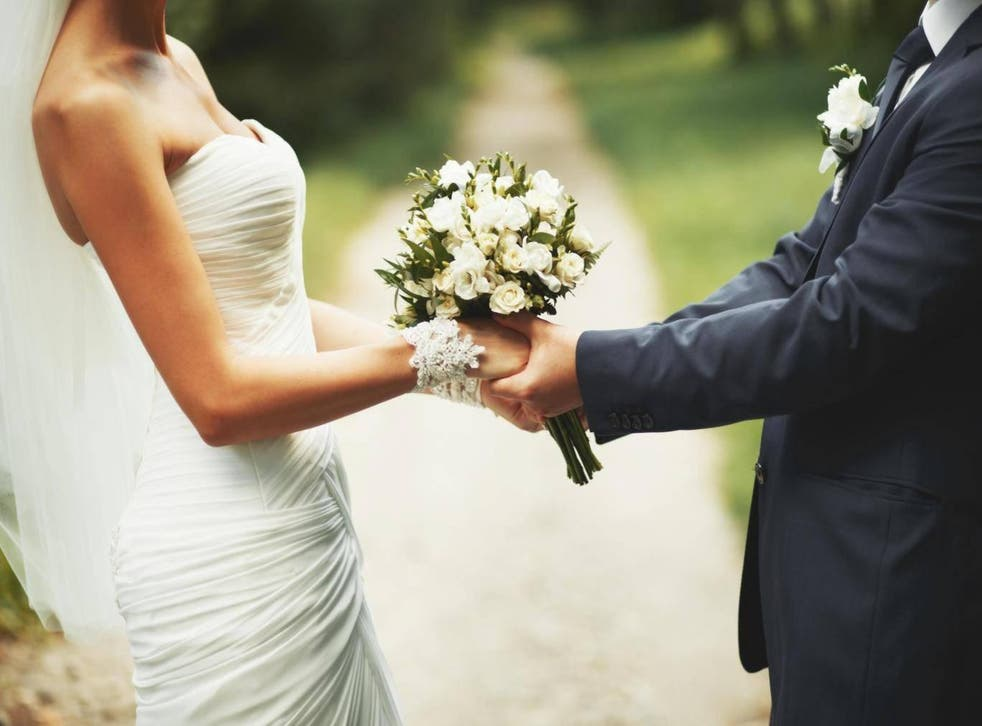 The number of opposite-sex marriages fell by 3.4 per cent between 2014-15, according to the Office for National Statistics (ONS)