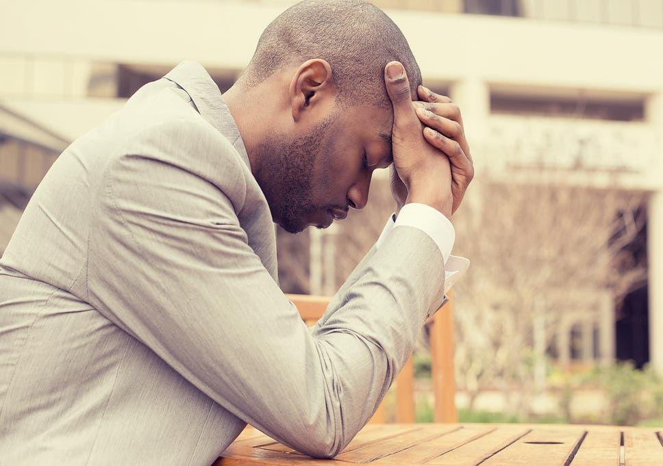 Stress losing loving feeling