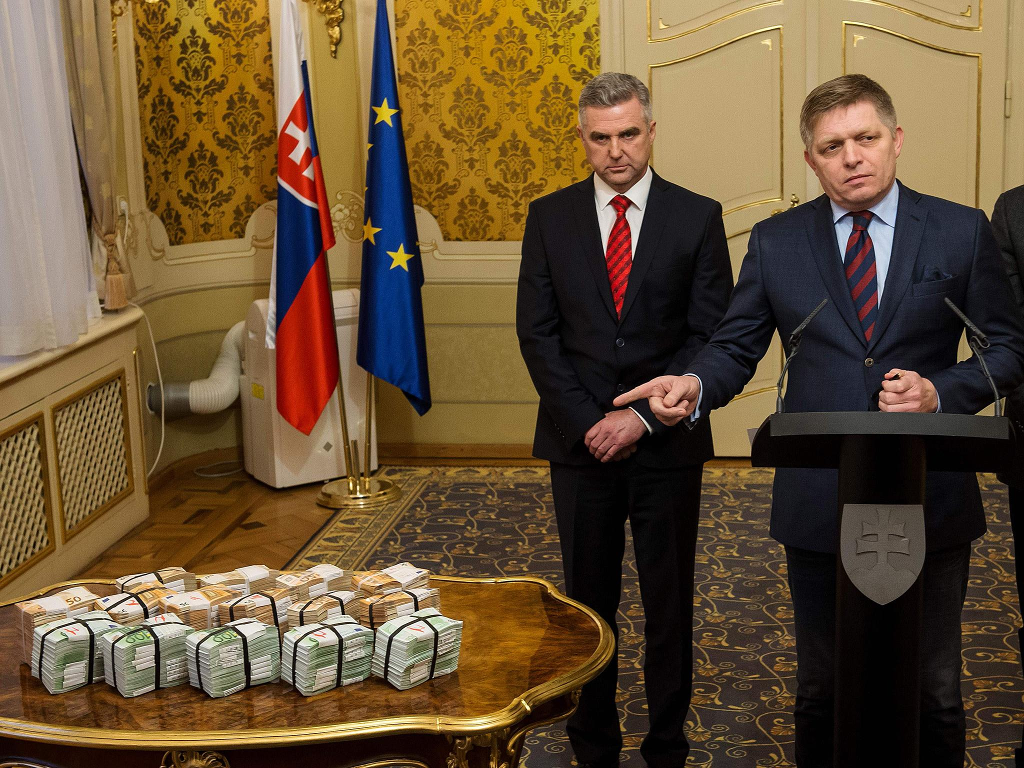 Slovak Prime Minister denies link to mafia as he offers €1m to find investigative journalist's killer