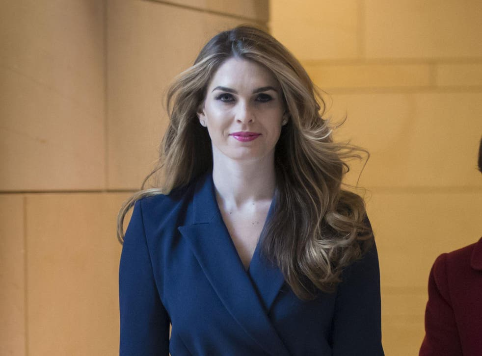 In an official statement, Donald Trump called Hope Hicks a 'truly great person' and said he would miss having her at his side