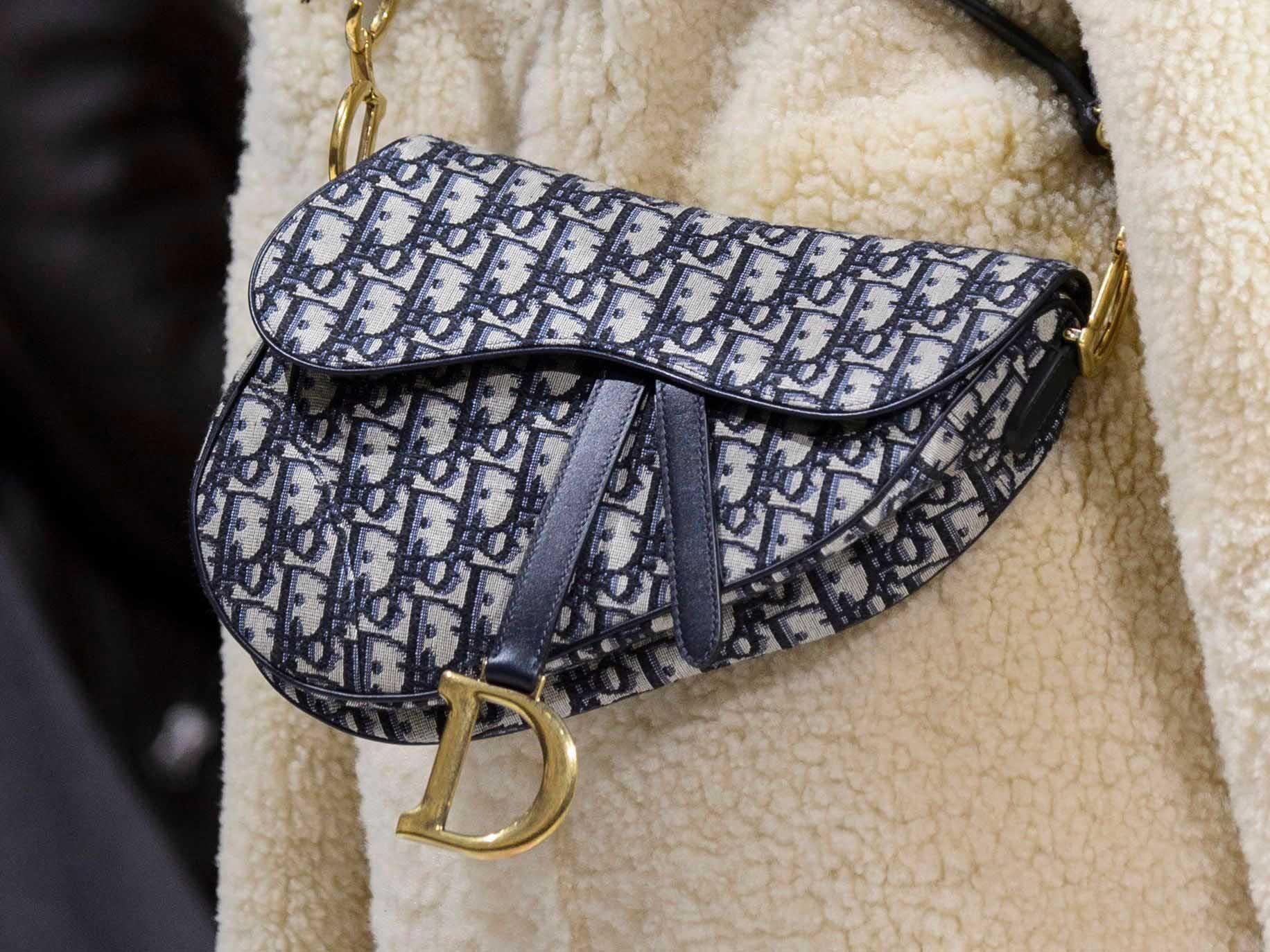 Fashion · Dior s iconic logo saddle bag ... 163eab50399e8