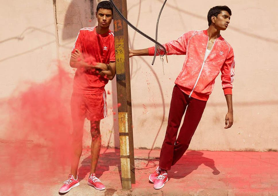 1309e3090 Adidas launches new collection with Pharrell Williams inspired by Holi  Festival