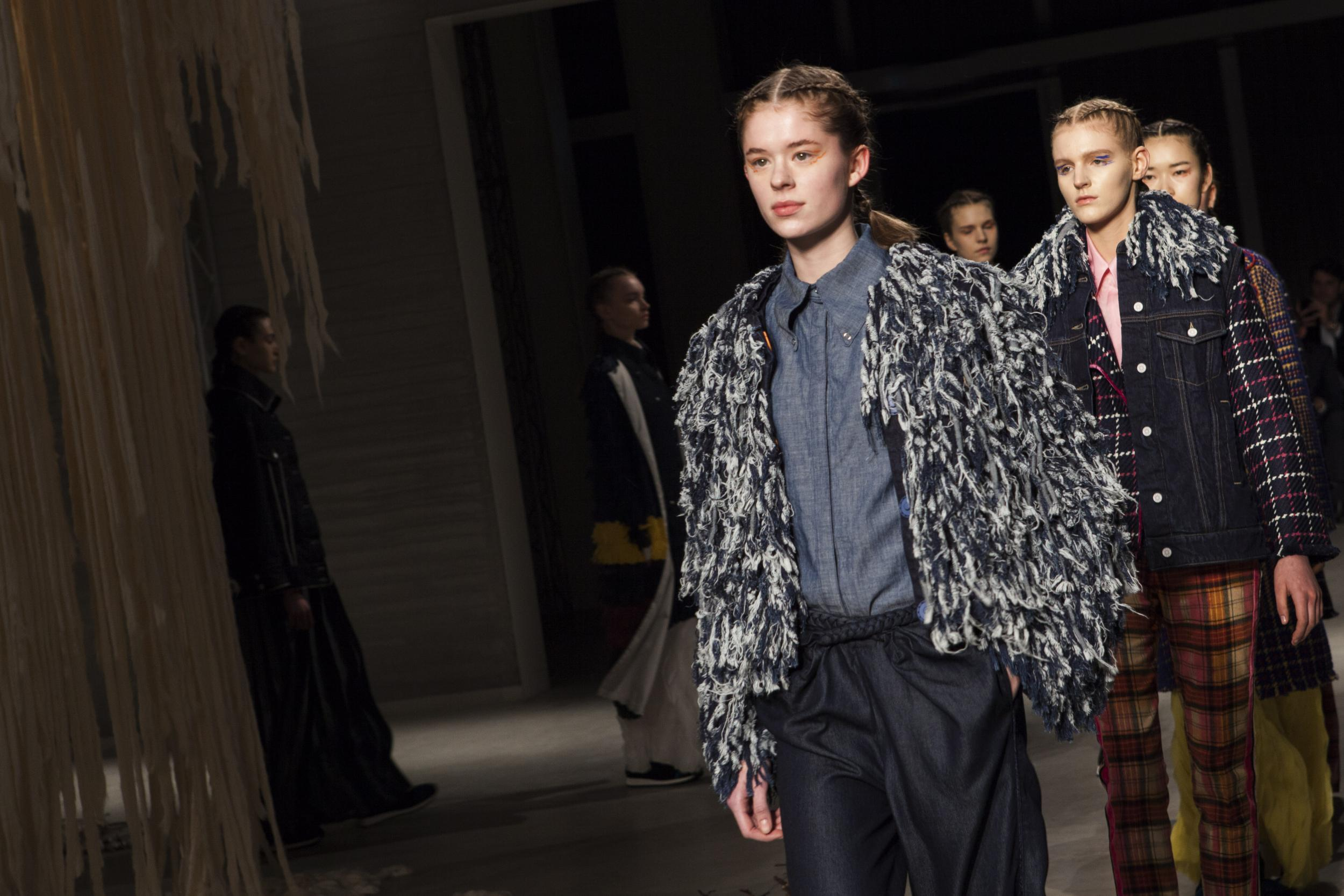 Denim 'fur' is latest sustainable fashion trend