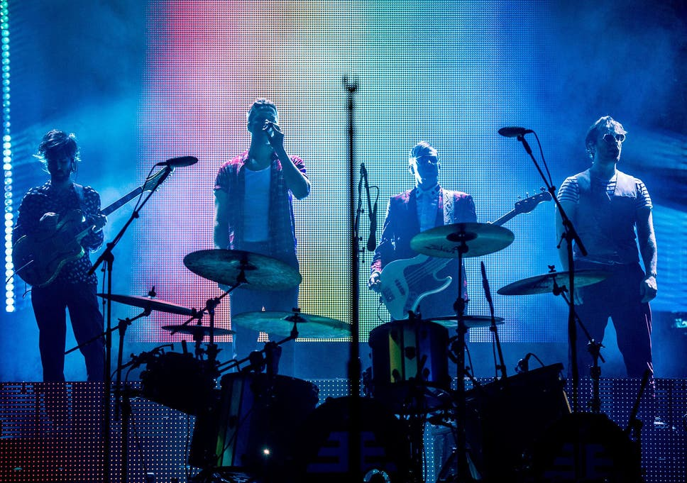c75762d34147 Imagine Dragons review, O2 Arena London: Las Vegas group use their stage  time to highlight mental health and LGBT+ rights