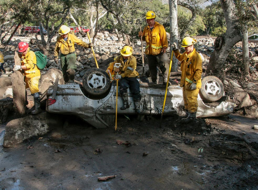 Anticipating the first major storm since deadly mudslides inundated the area in January, Santa Barbara County Sheriff Bill Brown said 'we cannot take any unnecessary chances'