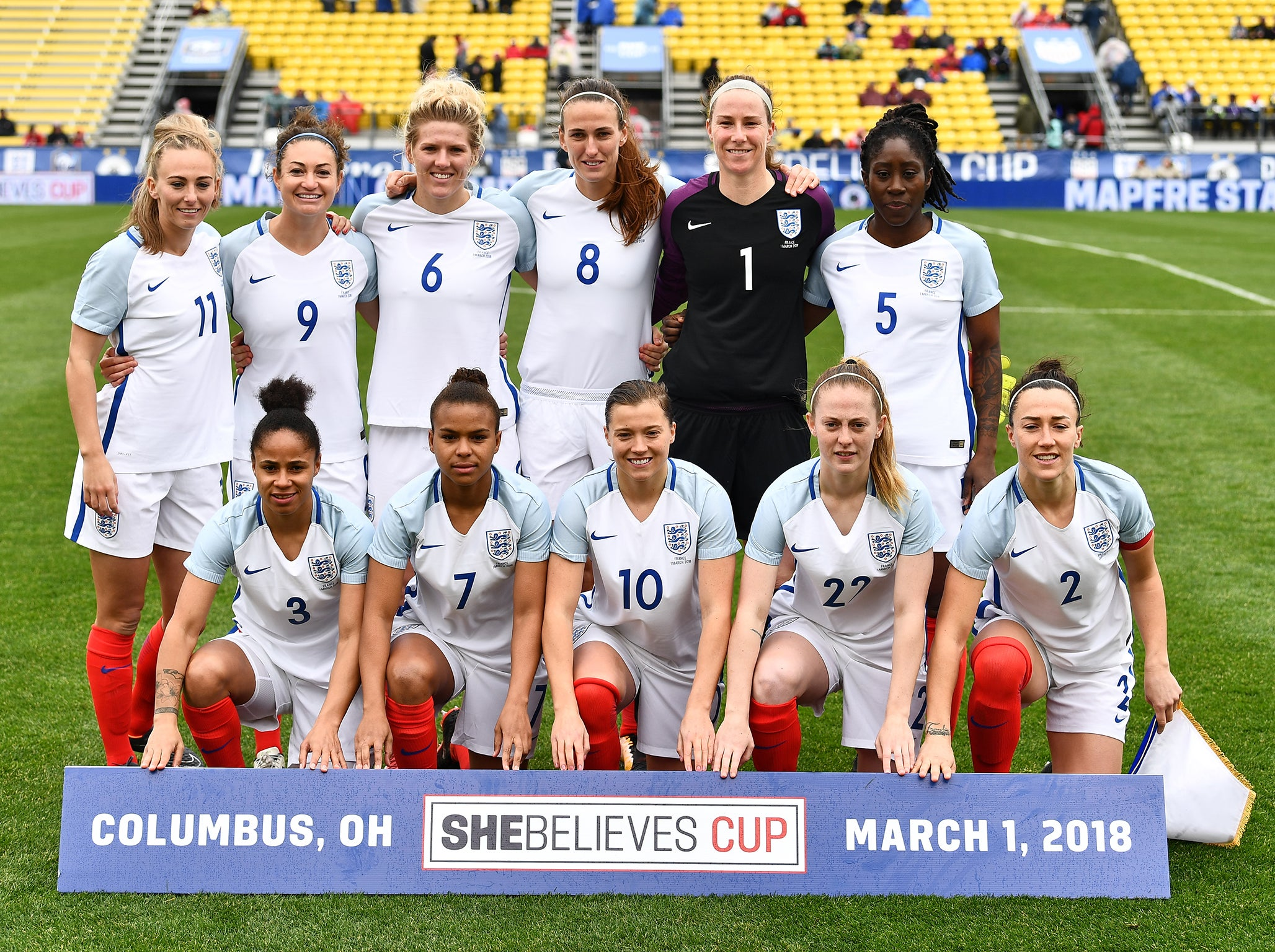 Phil Neville says he 'expected' England to thrash France, as Lionesses kick off SheBelieves Cup campaign