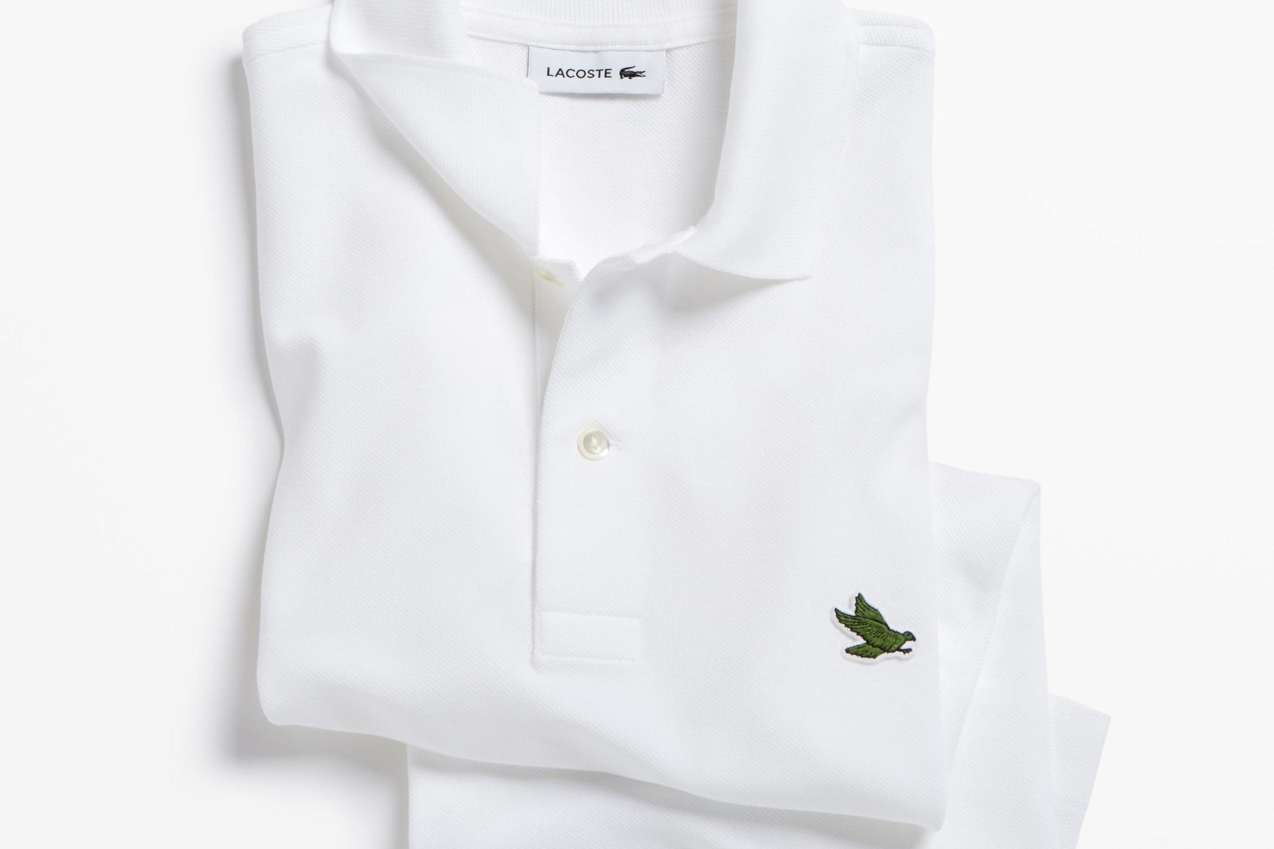 Lacoste Replaces Iconic Crocodile Logo With Endangered Species As