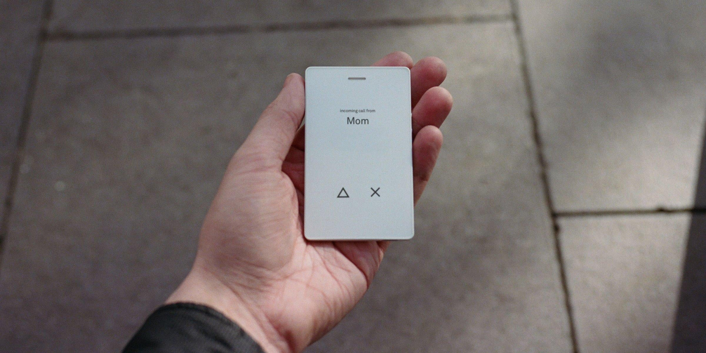 This beautifully designed 'dumb phone' might be the key to curing our addiction to apps