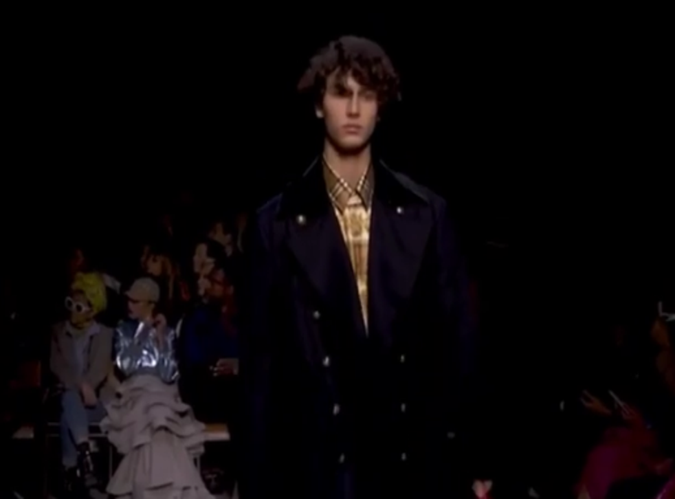 Prince Nikolai made his runway debut at London Fashion Week