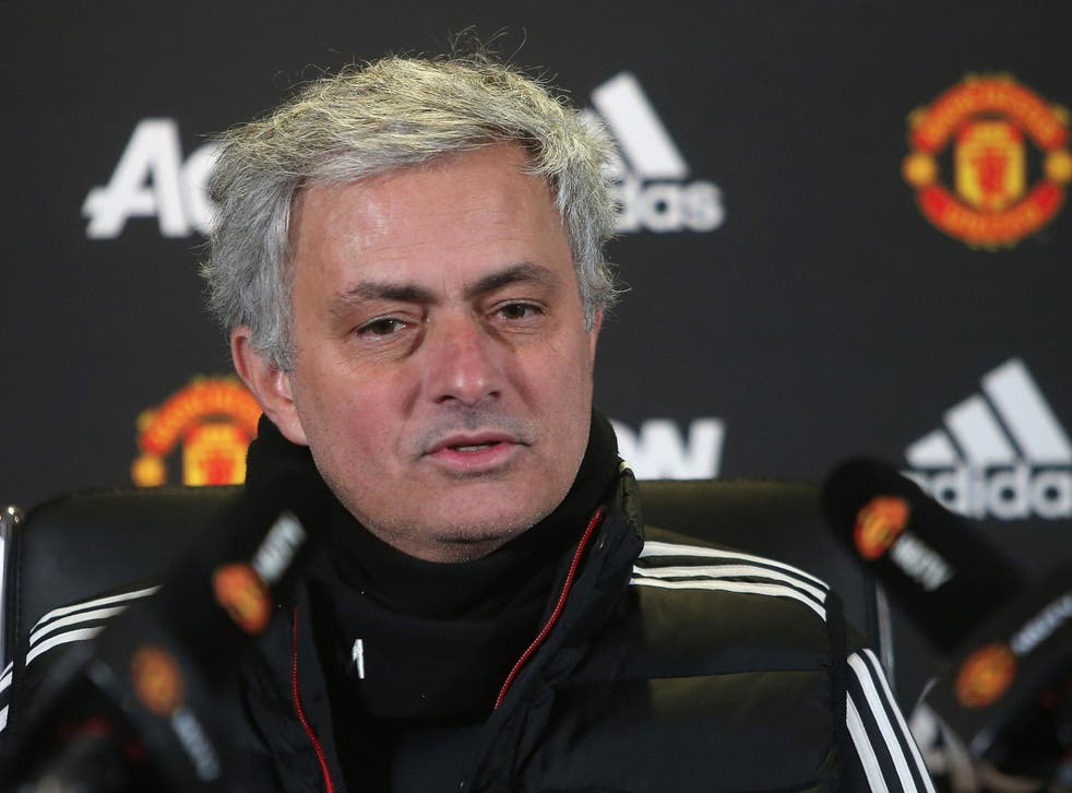Jose Mourinho is taking nothing for granted in the top-four race
