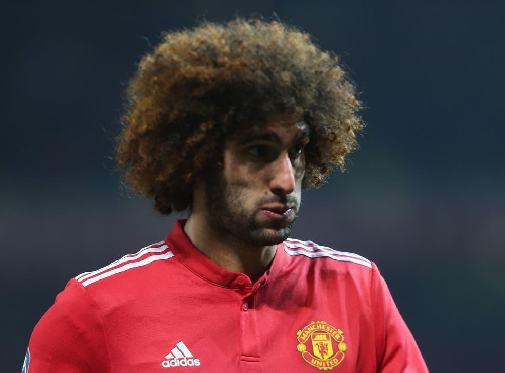 Marouane Fellaini's current Manchester United contract expires this summer
