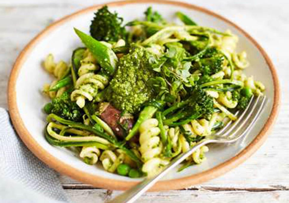 How To Make A Green Packed Vegetable Pasta The Independent