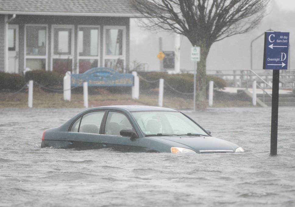 Bomb cyclone: Storm hammers northeast US bringing flooding and tidal