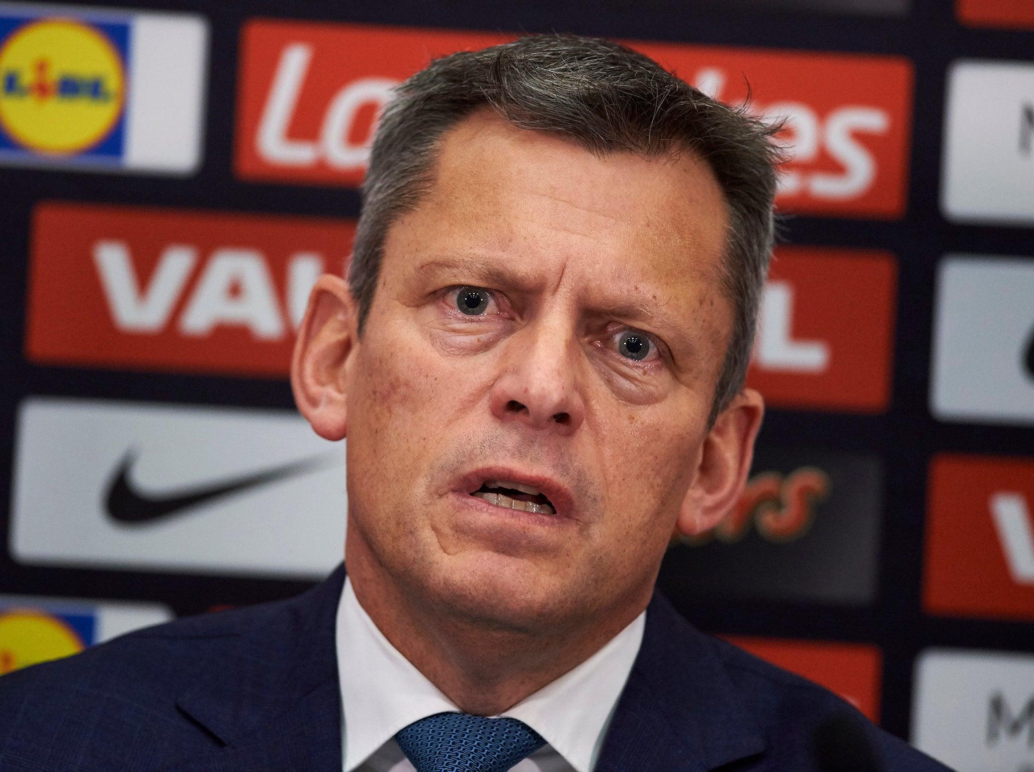 Football Association chief executive Martin Glenn apologises for comparing Star of David to Nazi swastika