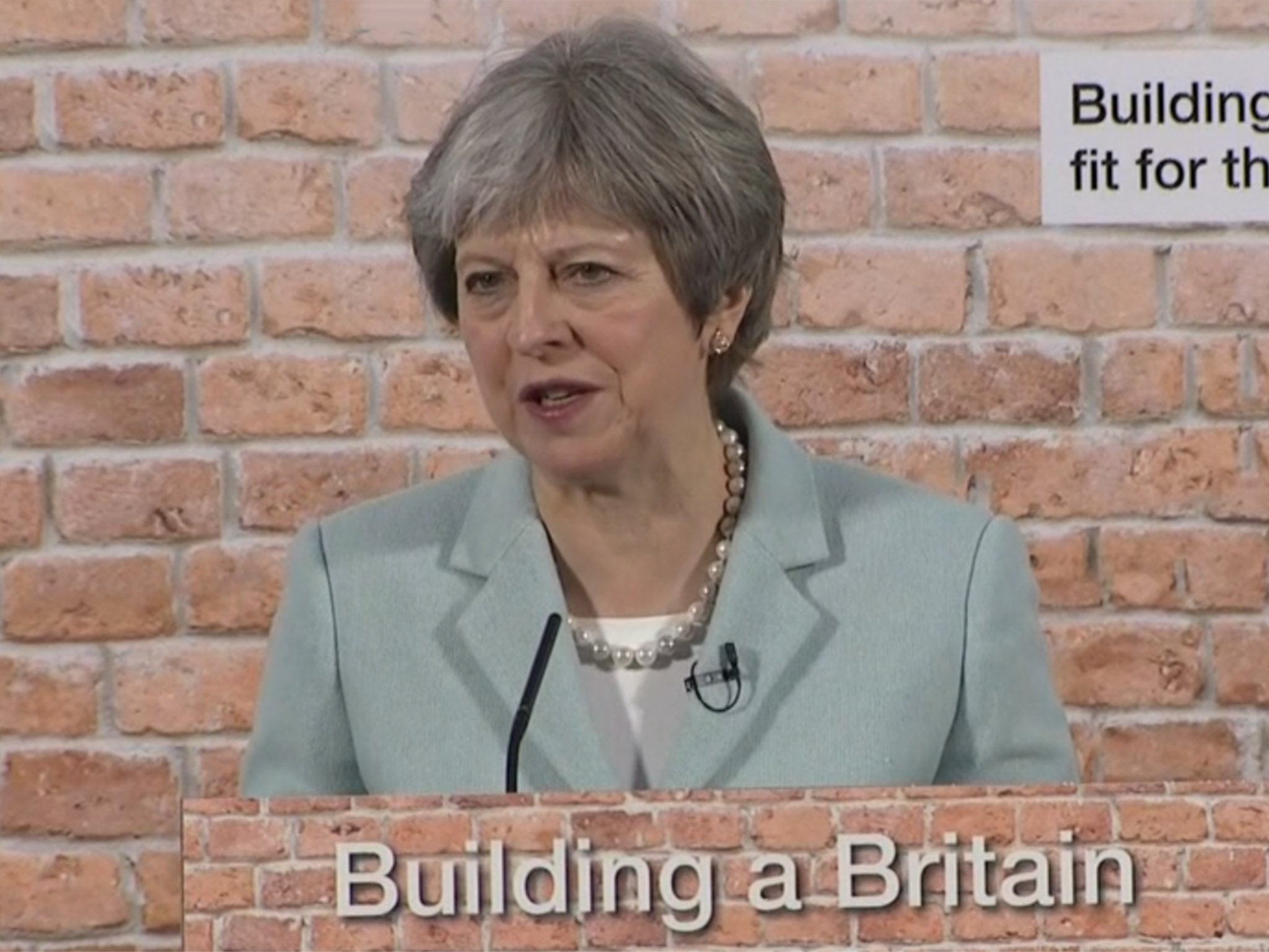 Theresa May admits homelessness is source of 'national shame' in major speech on tackling housing crisis