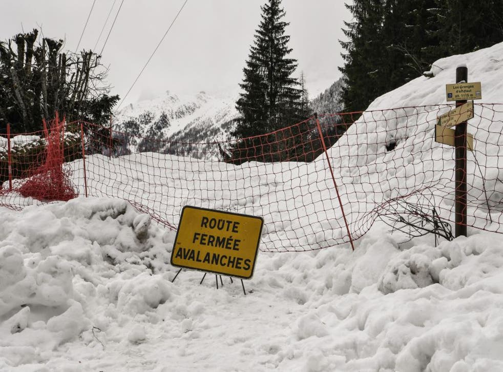 Some 25 people have been killed by avalanches in France this season