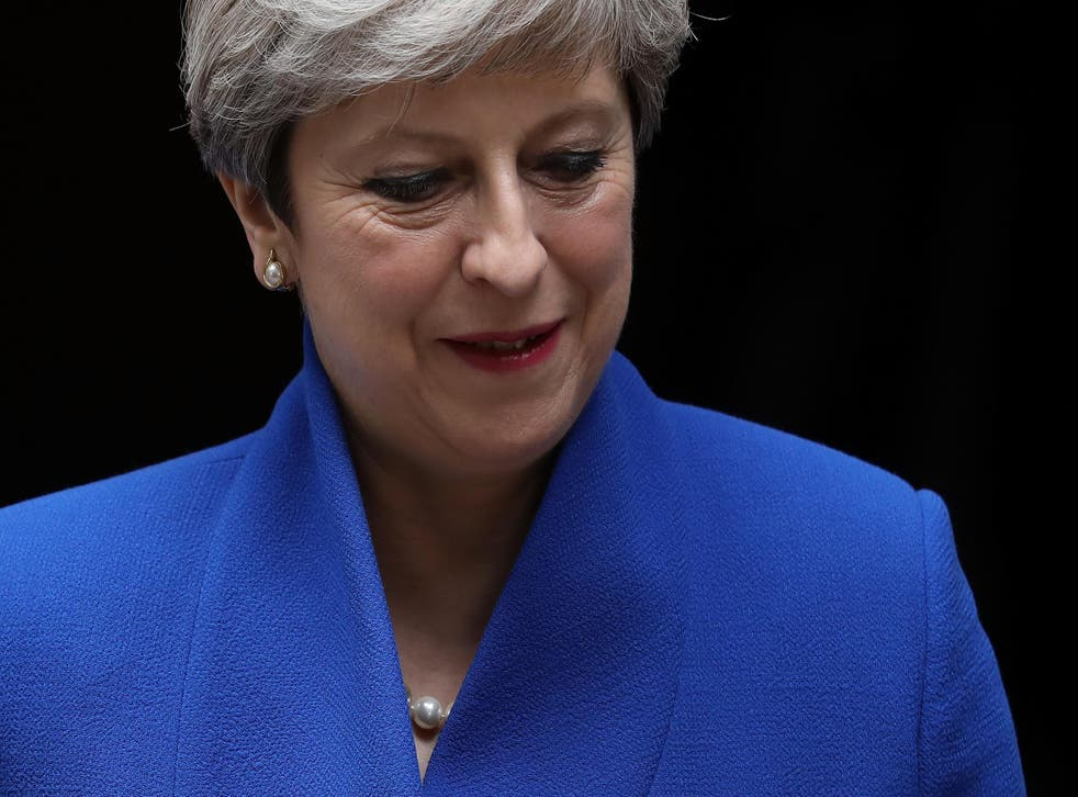 Theresa May will meet around a dozen MPs this evening at No10