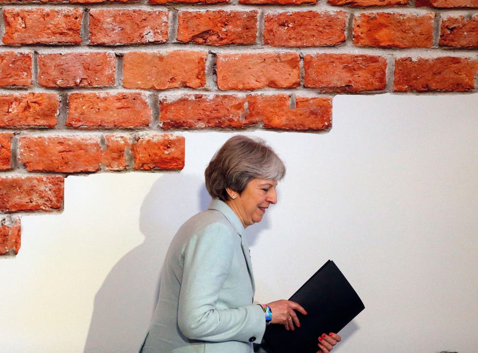Theresa May said that disused shops could be used to tackle the housing crisis in a speech yesterday