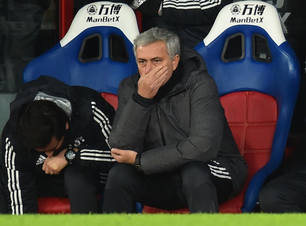 Mourinho was furious with his players at half-time