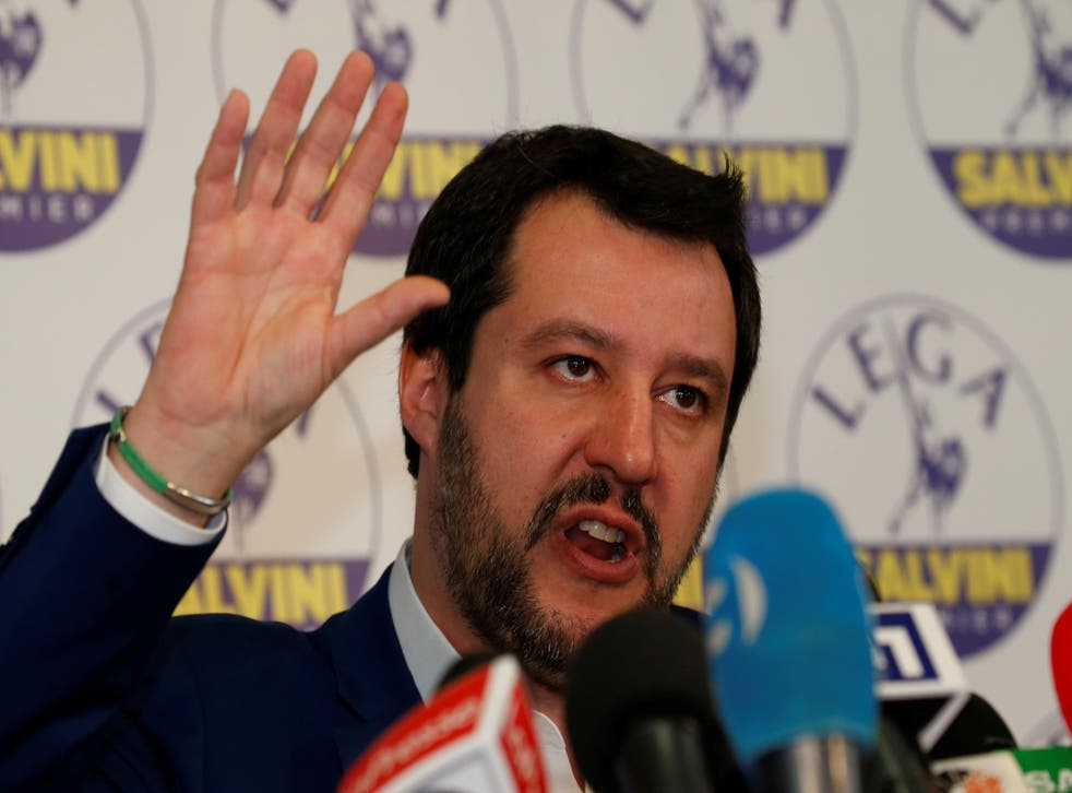 Salvini's Northern League became the strongest party in a broad right-wing alliance after the weekend's elections