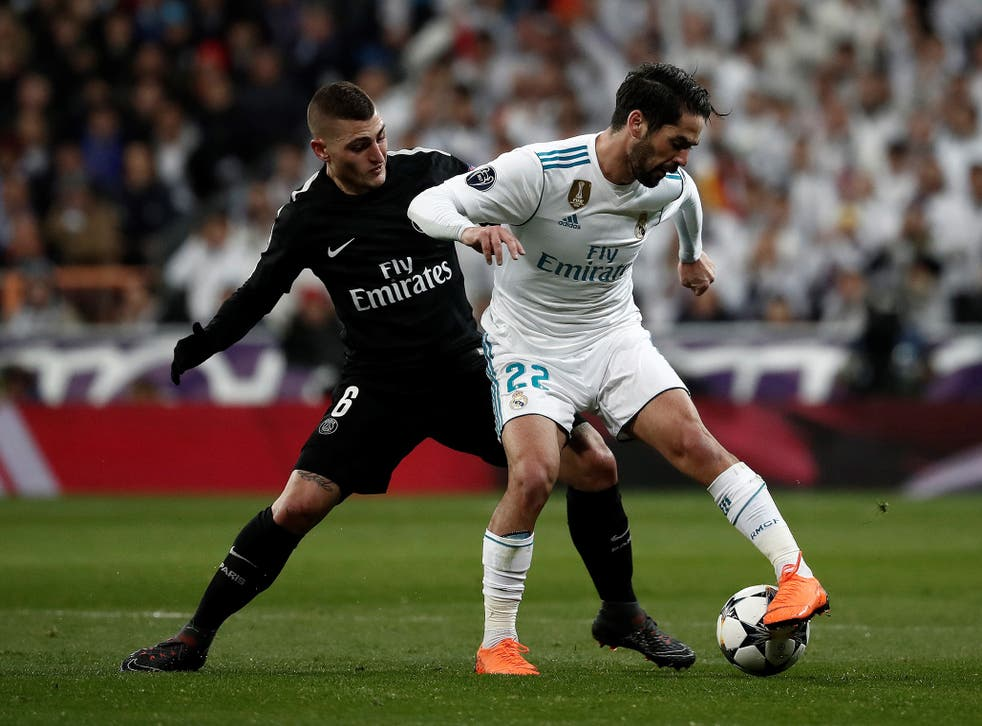 Isco and Marco Verratti's duel could prove key