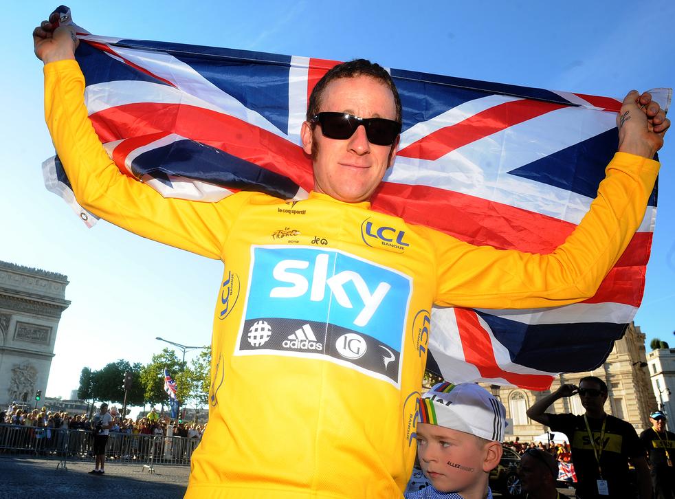Team Sky's Bradley Wiggins won the 2012 Tour de France