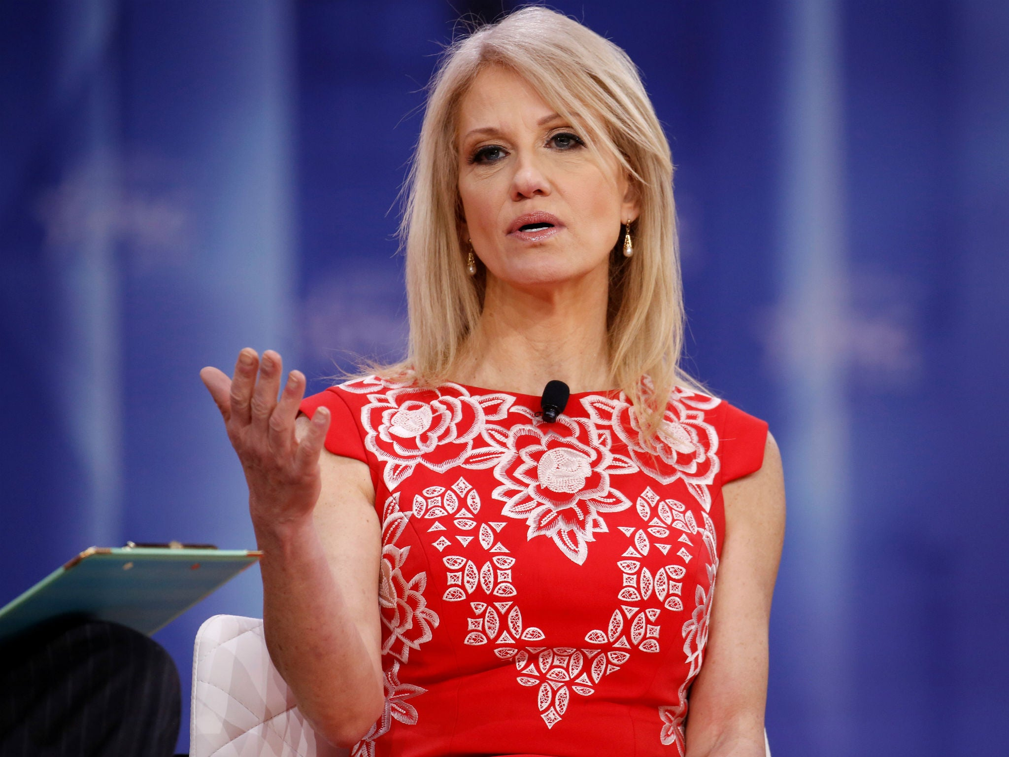 White House counsellor Kellyanne Conway violated law with TV
