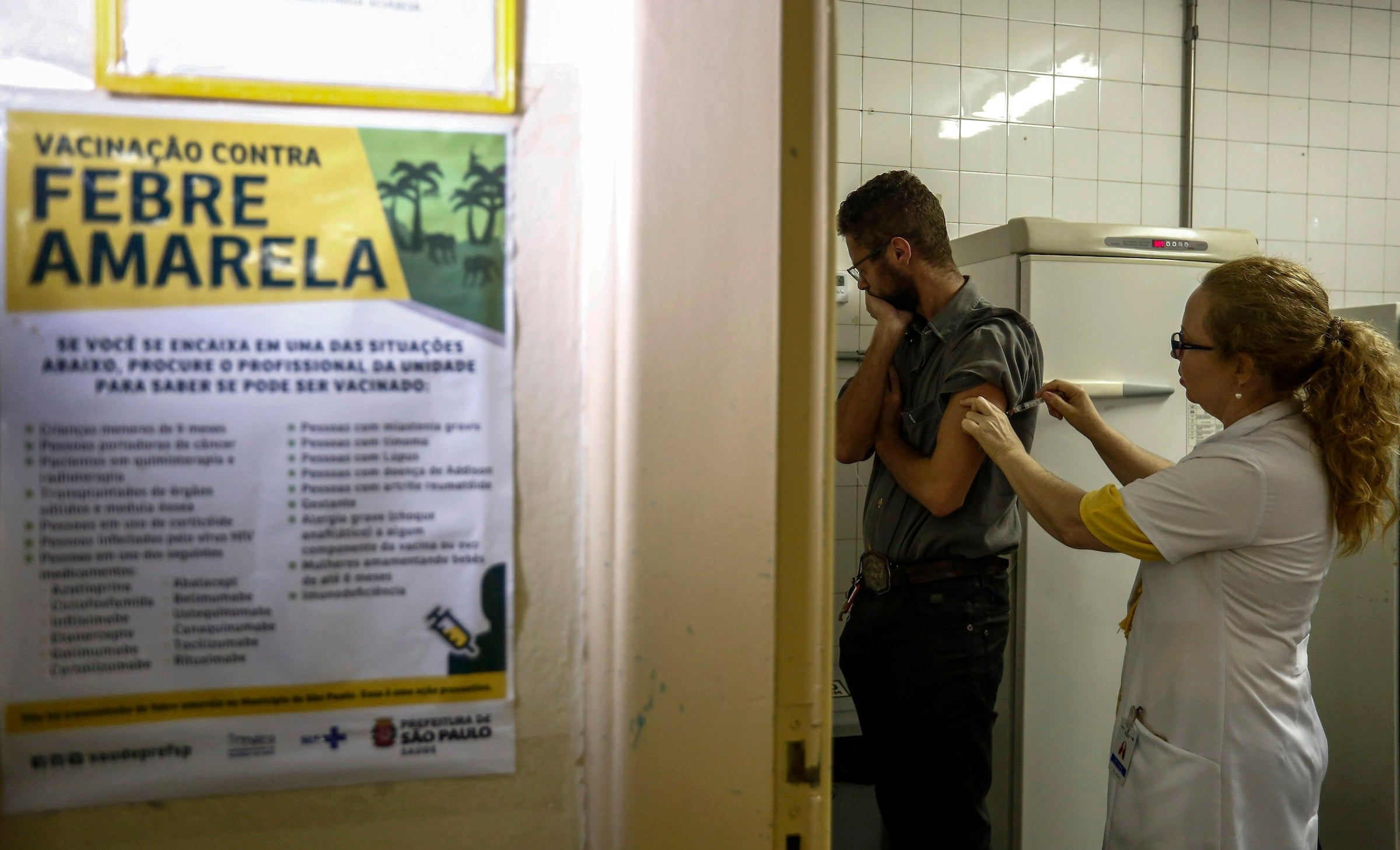 Brazil yellow fever vaccination efforts hampered by rumours, fear and social media