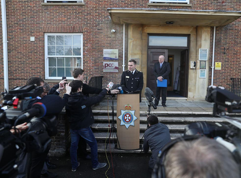 Wiltshire Police Assistant Chief Constable Kier Pritchard speaking at a press conference outside Wiltshire Police Headquarters in Devizes after double agent Sergei Skripal was found critically ill by exposure to an unknown substance in Salisbury