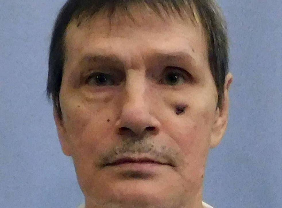 Doyle Lee Hamm, who is on death row in Alabama