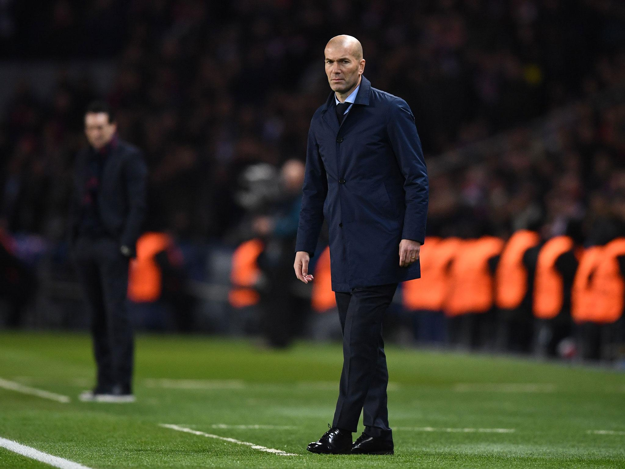 Real Madrid back on track after beating PSG to reach Champions League last eight, says Zinedine Zidane